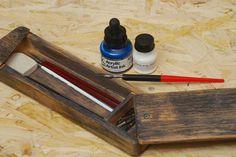 Drevený peračník - praktický a dekoratívny - Dielňa prakticky