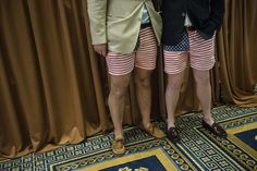 Some attendees sported a different look at the American Conservative Union Conference, an annual meeting of politically conservative America...