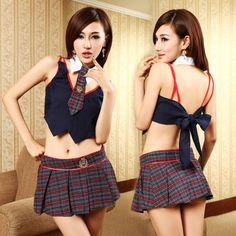 Royal College British Cosplay School Uniforms Navy Sailor Police Nightclub Costumes Chemises Babydolls Sexy Lingerie