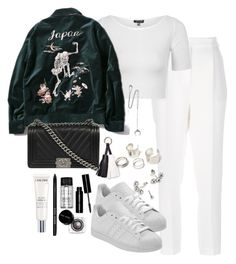 """""""Untitled #2268"""" by theeuropeancloset on Polyvore featuring Lanvin, Topshop, Chan Luu, Bobbi Brown Cosmetics and Lancôme"""
