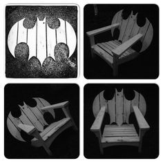 Batman Adirondack Chair