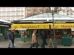 Viktualienmarkt in der Münchner Altstadt
