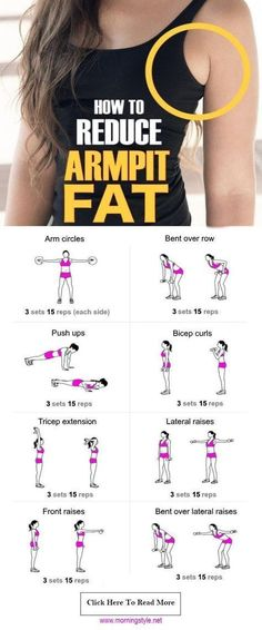 How to Get Rid of Armpit Fat Fast Healthy Society. armpit fat workout armpit fat workout no equipment armpit fat exercises armpit fat workout arm pits armpit fat workout double chin Armpit Fat Solutions by alexandria Sport Fitness, Fitness Tips, Fitness Models, Fitness Motivation, Health Fitness, Fitness Shirts, Yoga Fitness, Muscle Fitness, Workout Fitness