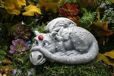 dragon moat lawn statue - Google Search