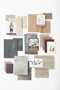This mood board was commissioned by Decotec to communicate their new surface collection in a less technical and more creative way.  The materials board is based on the interior design trend Refined Raw we previously developed for the client. #moodboard #eclectictrends #moodboardacademy #materialsboard