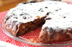 Tasting Good Naturally : Christmas Cake (Gâteau de Noël) Vegan