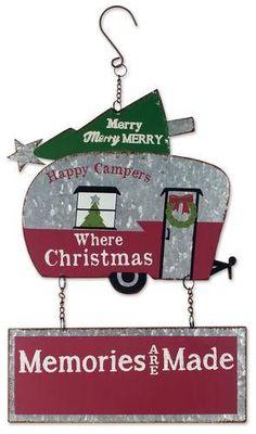 Christmas Trailer Sign