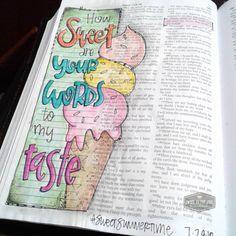 Holy Bible, Journal Edition – Bible Journaling Made Simple Scripture Doodle, Scripture Art, Bible Art, Bible Verses, Scriptures, Printable Scripture, Bible Doodling, Bible Notes, Sketches