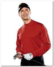 $39.69 > Adidas Golf A104 Men's ClimaLite Tech L-Sleeve Mock - Available Colors: 4, Size Range: S - 2XL