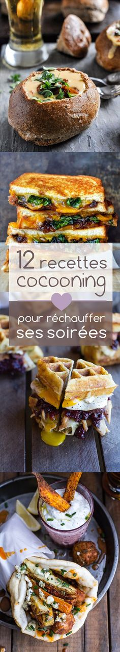 12 Cocooning recipes to warm up your evenings! Source by Easy Healthy Recipes, Easy Meals, Easy Cooking, Cooking Recipes, Cheat Meal, Street Food, Food Inspiration, Love Food, Food Porn
