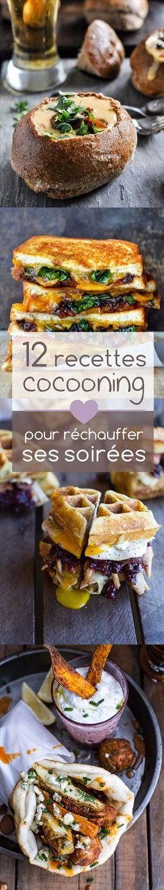 12 recettes Cocooning pour réchauffer vos soirées !