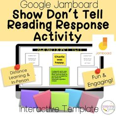 Fifth Grade Writing, 3rd Grade Reading, In Writing, Teacher Resources, Teaching Ideas, Show Dont Tell, Reading Response Activities, Reading Boards, Life Hacks For School