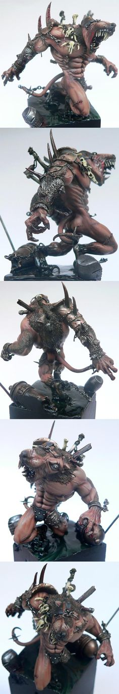 Awesome rat ogre conversion