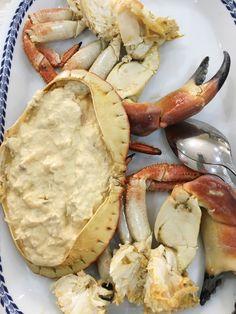 Buey de Mar. Sapateira.  Restaurante El Cristo. Portugal