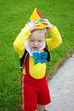 Hooray: Pinocchio & the Blue Fairy: & Pinocchio Costume Tutorial
