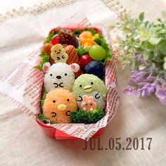 すみっこぐらし弁当 Comida Disney, Kawaii Cooking, Bento Kids, Kids Packed Lunch, Cute Lunch Boxes, Cute Baking, Kawaii Bento, Cute Food Art, Bento Recipes