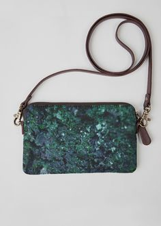 VIDA Statement Clutch - Colorful Rust Abstract by VIDA