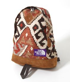 """Japan's The North Face Purple Label has released a series of bags featuring the """"Old Kilim Print"""". Included in the release are a fanny pack and a backpack, both featuring premium suede leather details and of course the trademark purple logo tag. The bags are now available at Ark. More detailed images of the collection …"""