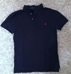 Ralph Laurent - Mörkblå Piké T-shirt - barn L/ herr S / dam M 69 kr