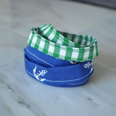 Fabric Wrap Bracelet Set of 2 blue green by CleverlyInspire Blog Images, Anchors, Bracelet Set, Teen Fashion, Gingham, Preppy, Blue Green, Nautical, Fabric