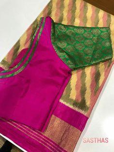 Blouses Patch Work Blouse Designs, Kids Blouse Designs, Simple Blouse Designs, Saree Blouse Neck Designs, Stylish Blouse Design, Blouse Patterns, Sleeves Designs For Dresses, Boat Neck, Sarees