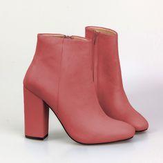 BIBI- rosa leather