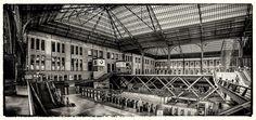 Estación de Principe Pio II - Panorama de 6 fotos