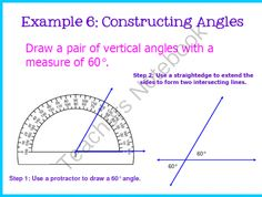 Adjacent and Vertical Angles Pack