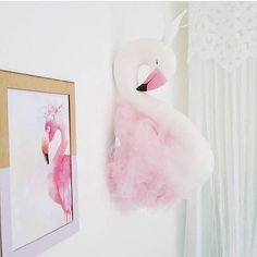 High Quality Fashion Handmade DIY Kids Baby Swan Flamingo Stuffed Toys Room Decoration Wall Decoration Size 52X19cm-in Stuffed & Plush Animals from Toys & Hobbies on Aliexpress.com | Alibaba Group