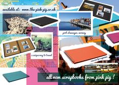 Scrapbooks for every occasion! Pink Pig Sketchbook, Stavanger, Memory Books, Sketchbooks, Scrapbooks, Worlds Largest, Norway, Trips, Memories