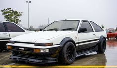 Re-watching Initial D had to re-post: Toyota AE86 Trueno <3 [3864x2165] via Classy Bro