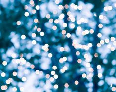 abstract photography bokeh 8x10 8x12 fine art photography winter fairy lights teal art print lights in trees abstract light art blue decor on Etsy, $25.00