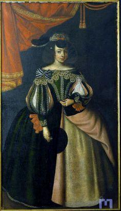 1650-1653 Joanna Braganza, Princess of Beira by Manuel Franco