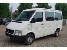 Gebrauchtwagen Angebot: Volkswagen LT 28 9-Sitzer Kleinbus Kunstleder AHK, € 8.915,-, Diesel, Schaltgetriebe von 06/2005 in Kaarst (bei Düsseldorf), 81.510 km, 80 kW