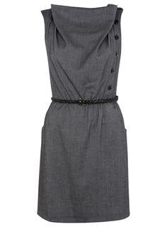 Grey Chevy Dress from Miss Selfridge.