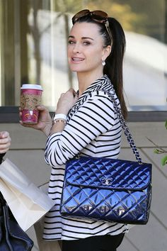 Kyle Richards- She is just so cute, I love her!
