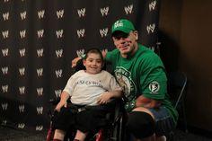 John Cena Grants Milestone 300th Wish with Make-A-Wish.
