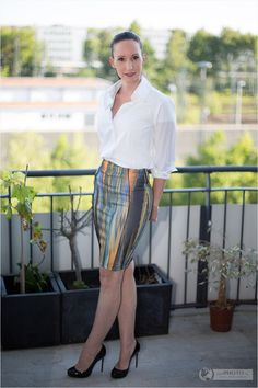 Summerlook in Munich - Dinner look of a fashionblogger #fashionblogger_de #fashionblogger #summer #skirt