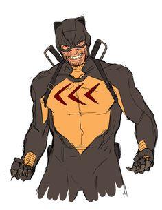 Catman by Kris Anka Superhero Characters, Comic Book Characters, Comic Character, Character Concept, Concept Art, Comic Book Artists, Comic Artist, Comic Books Art, Comic Villains