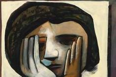 Girl with Hands - CHARLES BLACKMAN