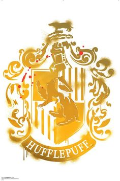 Hufflepuff Crest WallJammer Harry Potter 7