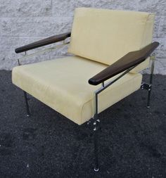 Pair of Sergio Rodrigues Beto Chairs | From a unique collection of antique and modern armchairs at http://www.1stdibs.com/furniture/seating/armchairs/