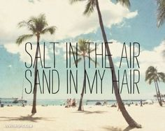 Salt In The Air Sand In My Hair Pictures, Photos, and Images for Facebook, Tumblr, Pinterest, and Twitter