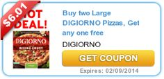 New Buy 2 Large DiGiorno Pizzas and Get 1 Free Coupon = Great Deal at CVS This Week (Pinned 12/30/13)
