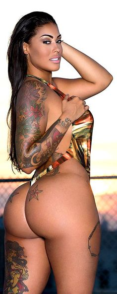 Tattooed curves.
