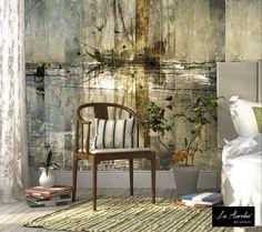"Wallpaper ""The Passage"" Collection: 'Dutch Dreams' A Luxury Wallpaper designed & produced by La Aurelia Mural & Drops, available in the La Aurelia Store: www.megamedia.nl/... #wallpaper #ship #beach #art #sea #luxury #walldecoration #dutchdreams #laaurelia"