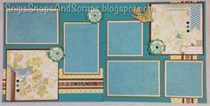 Snips, Snaps, and Scraps - part of 6 page workshop designed by Kathy Burrows