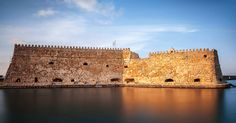 Venetian Cretan Castle by Antonis Androulakis on Heraklion, Mediterranean Sea, Greece Travel, Crete, Continents, Venetian, Photo Credit, Monument Valley, Beautiful Places