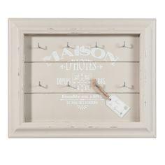 Schlüsselbrett MAS DES OLIVIERS aus Holz, 32 x 26cm