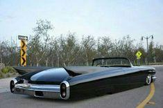 Cadillac fish tail